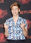 WESTWOOD, CA - OCTOBER 26: Actor Ricky Garcia arrives at the Premiere Of Netflix's 'Stranger Things' Season 2 at Regency Westwood Village Theatre on October 26, 2017 in Los Angeles, California.