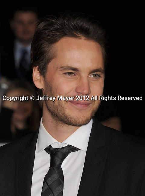 LOS ANGELES, CA - FEBRUARY 22: Taylor Kitsch attends the 'John Carter' Los Angeles premiere held at the Regal Cinemas L.A. Live on February 22, 2012 in Los Angeles, California.