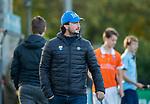 BLOEMENDAAL  -  coach Ben Howarth (bl'daal) ,  , competitiewedstrijd junioren  landelijk  Bloemendaal JA1-Nijmegen JA1 (2-2) . COPYRIGHT KOEN SUYK