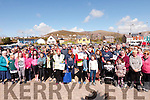 The start of the Dingle 5k walk part of the Maura O'Connor Memorial Fundraiser in aid of Brú Colombanus and the South Infirmary Victoria Hospital.