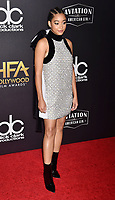 BEVERLY HILLS, CA - NOVEMBER 04: Amandla Stenberg arrives at the 22nd Annual Hollywood Film Awards at the Beverly Hilton Hotel on November 4, 2018 in Beverly Hills, California.<br /> CAP/ROT/TM<br /> &copy;TM/ROT/Capital Pictures