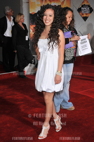 "Keana Texeira at the world premiere of ""Race to Witch Mountain"" at the El Capitan Theatre, Hollywood..March 11, 2009  Los Angeles, CA.Picture: Paul Smith / Featureflash"