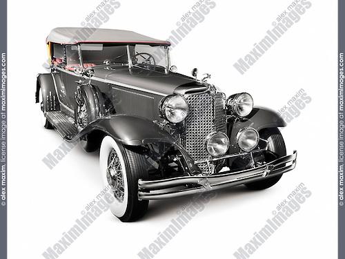 1931 Chrysler Imperial Phaeton LeBaron vintage car, Dual Cowl luxury convertible retro car