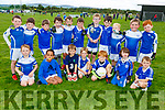 The Kerins O'Rahillys team taking part in the John Mitchels U8 and U10 Annual Club Blitz at the Complex on Saturday.