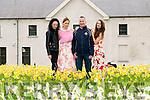 L-R Norma O'Donoghue, Elaine Howard, Enda Walshe and Aoife Begley launching Legion GAA Designer Fashion Event in the Killarney House and Gardens last Saturday.