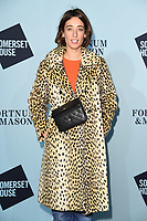 Laura Jackson<br /> arriving for the Skate at Somerset House 2017 opening, London<br /> <br /> <br /> ©Ash Knotek  D3351  14/11/2017