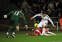 2012 01 15 Premier Swansea City v Arsenal, Liberty Stadium, south Wales, UK.