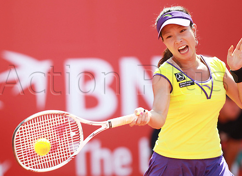 21 05 2010 Tenis Sony Ericsson WTA Tour, Polsat Open, Jie Zheng Marek