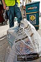 05/08/09 Glasgow bin strike
