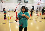 Alta Vista Elementary student Adrianna Garcia poses for a portrait during morning archery practice at the school. Garcia is one of a handful of students that helped bring a state championship in archery to the school and will be heading to a national archery competition in Louisville, Kentucky in May. Garcia said her favorite thing about living in Laramie County is school activities. To take part in WTE Photo Editor Michael Smith's Our Faces: Portraits of Laramie County project, call 633-3124 or 630-8388 or email msmith@wyomingnews.com to make an appointment. To see all of the portraits published so far, go online to ourfaces.wyomingnews.com. Michael Smith/staff