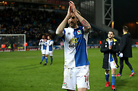 Blackburn Rovers' Charlie Mulgrew at the end of todays match<br /> <br /> Photographer Rachel Holborn/CameraSport<br /> <br /> The EFL Sky Bet League One - Blackburn Rovers v Shrewsbury Town - Saturday 13th January 2018 - Ewood Park - Blackburn<br /> <br /> World Copyright &copy; 2018 CameraSport. All rights reserved. 43 Linden Ave. Countesthorpe. Leicester. England. LE8 5PG - Tel: +44 (0) 116 277 4147 - admin@camerasport.com - www.camerasport.com