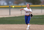 Wildcats' Makaylee Jaussi makes a play against Snow College at Edmonds Sports Complex in Carson City, Nev., on Friday, March 20, 2015. <br /> Photo by Cathleen Allison