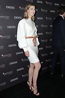 LOS ANGELES - NOV 4:  Rosamund Pike at the Hamilton Behind the Camera Awards at the Exchange LA on November 4, 2018 in Los Angeles, CA
