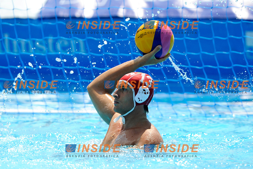 DEL LUNGO Marco Italia <br /> Italia - Georgia / Italy - Georgia<br /> LEN European Water Polo Championships 2014<br /> Alfred Hajos -Tamas Szechy Swimming Complex<br /> Margitsziget - Margaret Island<br /> Day04 - July 17 <br /> Photo A.Staccioli/Insidefoto/