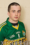 Paul Murphy member of the Kerry U-21 panel 2012