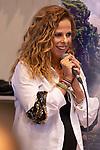 Spanish singer Pastora Soler during the press conference and rehearsal of Festival Unicos. September 22, 2019. (ALTERPHOTOS/Johana Hernandez)