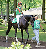 Black Elegance before The Christiana Stakes at Delaware Park on 7/9/14