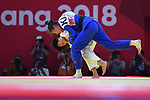 Shiho Tanaka (JPN), <br /> SEPTEMBER 1, 2018 - Judo : Mix Team Final at Jakarta Convention Center Plenary Hall during the 2018 Jakarta Palembang Asian Games in Jakarta, Indonesia. <br /> (Photo by MATSUO.K/AFLO SPORT)