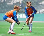 BLOEMENDAAL - Hockey- competitiewedstrijd Bloemendaal MA1-HDM MA1 .Bodine Boelaars (Bloemendaal).   COPYRIGHT KOEN SUYK