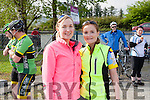 Sisters , Noreen & Aileen Dowd from Cloghane, Brandon.at the Remembering Zoe Cycle Challenge was held last Sunday morning at Fr. Casey's GAA clubhouse Abbeyfeale