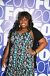 Amber Riley stars in GLEE as he attends the FOX 2010 Programming Presentation (Upfronts) Post-Party on May 18, 2010 at Wollman Rink in Central Park, New York City, New York.  (Photo by Sue Coflin/Max Photos)
