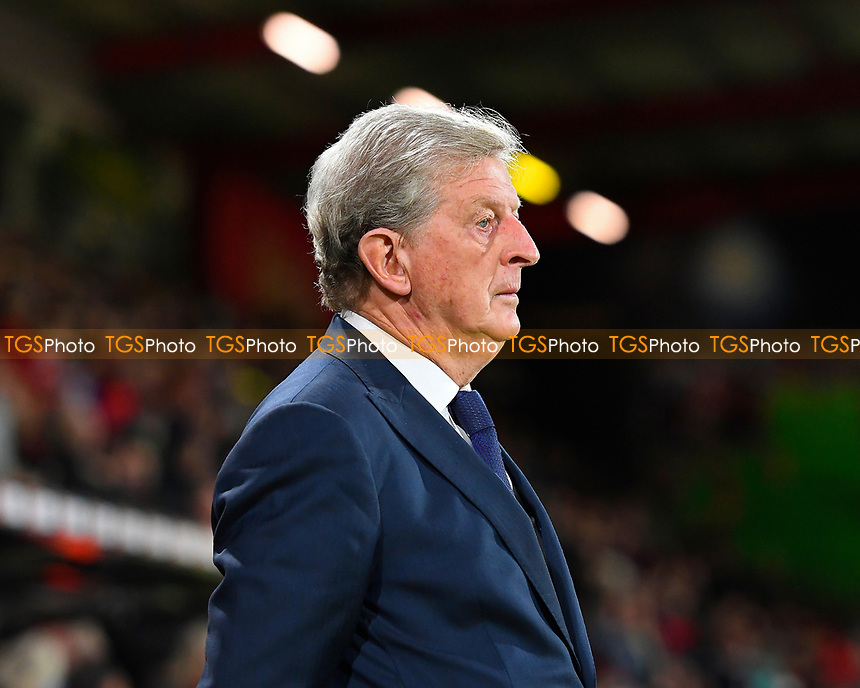 Crystal Palace Manager Roy Hodgson during AFC Bournemouth vs Crystal Palace, Premier League Football at the Vitality Stadium on 1st October 2018
