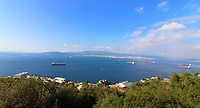 Views around Main Street and Top of the Rock in  Gibraltar on January 9th 2020<br /> <br /> Photo by Keith Mayhew