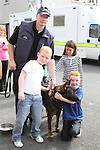Jordan Deegan, Joseph Pentony Black and Niamh Logue at the Garda Station Open Day...Picture Jenny Matthews/Newsfile.ie