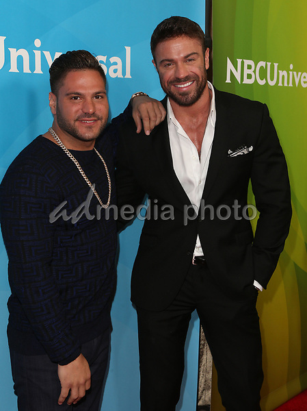 20 March 2017 - Beverly Hills California - Ronnie Ortiz-Magro, Chad Johnson. 2017 NBCUniversal Summer Press Day held at The Beverly Hilton Hotel. Photo Credit: AdMedia