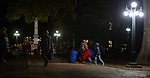 The Grove cleanup after the Ole Miss vs. Arkansas football game on Oct. 28, 2017. Photo by Marlee Crawford/Ole Miss Communications