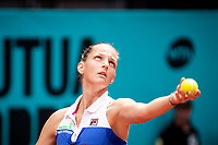 Czech Karolína Pliskova during Mutua Madrid Open 2018 at Caja Magica in Madrid, Spain. May 09, 2018. (ALTERPHOTOS/Borja B.Hojas) /NortePhoto NORTEPHOTOMEXICO