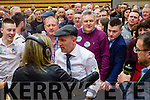 Michael Healy Rae at the Kerry General Election Count in Killarney.