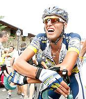 Tomasz Marczynski after the stage of La Vuelta 2012 between Lleida-Lerida and Collado de la Gallina (Andorra).August 25,2012. (ALTERPHOTOS/Acero) /NortePhoto.com<br /> <br /> **CREDITO*OBLIGATORIO** <br /> *No*Venta*A*Terceros*<br /> *No*Sale*So*third*<br /> *** No*Se*Permite*Hacer*Archivo**<br /> *No*Sale*So*third*