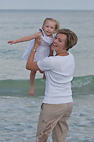 May 30, 2010.  Beach portraits for Carrie, Larry, Kylie and Emory Sutherland at Indian Rocks Beach, Florida.