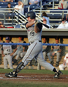 August 24, 2004:  Matthew (Matt) Spring of the Hudson Valley Renegades, NY-Penn League (Short Season Single-A) affiliate of the Tampa Bay Devil Rays during a game at Dwyer Stadium in Batavia, NY.  Photo by:  Mike Janes/Four Seam Images