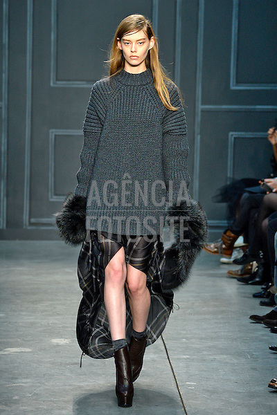 Nova Iorque, EUA &ndash; 02/2014 - Desfile de Vera Wang durante a Semana de moda de Nova Iorque - Inverno 2014.&nbsp;<br /> Foto: FOTOSITE