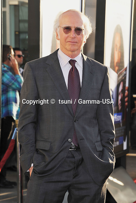 Larry David arriving Clear History Premiere at the Arclight Theatre In Los Angeles.