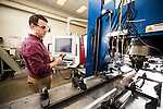 1701-65 082<br /> <br /> 1701-65 Carl Sorensen Tracy Nelson Lab<br /> <br /> Friction Stir Welding, Mechanical Engineering Labs<br /> <br /> January 24, 2017<br /> <br /> Photo by Jaren Wilkey/BYU<br /> <br /> &copy; BYU PHOTO 2017<br /> All Rights Reserved<br /> photo@byu.edu  (801)422-7322