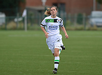 20180815 - Zulte , BELGIUM : OHL's Louise Rillaerts pictured during a friendly pre season soccer match between the women teams of Zulte Waregem Dames and OHL Oud Heverlee Leuven Dames  , Wednesday 15 August 2018 . PHOTO DAVID CATRY   SPORTPIX.BE