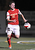 Matthew Vowinkel #21 of Chaminade looks to get a shot off during the Nassau-Suffolk CHSAA varsity boys soccer championship against St. Anthony's at Adelphi University on Sunday, Nov. 6, 2016. He scored both of his team's goals in Chaminade's 2-1 win in overtime.