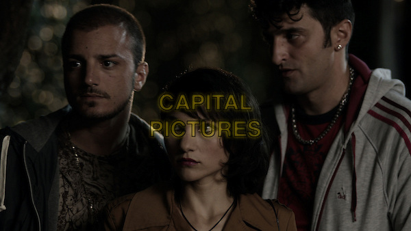 Nicolas Vaporidis, Manuela Martelli, Alessandro Giallocosta<br /> in The Future (2013) <br /> (Il futuro)<br /> *Filmstill - Editorial Use Only*<br /> CAP/FB<br /> Image supplied by Capital Pictures