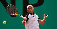 Dudi Sela (ISR) against Jurgen Melzer (AUS) (22) in the first round of the men's singles. Jurgen Melzer beat Dudi Sela 7-5 6-2 6-4..Tennis - French Open - Day 3 - Tue 25 May 2010 - Roland Garros - Paris - France..© FREY - AMN Images, 1st Floor, Barry House, 20-22 Worple Road, London. SW19 4DH - Tel: +44 (0) 208 947 0117 - contact@advantagemedianet.com - www.photoshelter.com/c/amnimages
