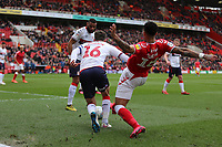 André Green of Charlton Athletic loses the ball to Jonathan Howson of Middlesbrough during Charlton Athletic vs Middlesbrough, Sky Bet EFL Championship Football at The Valley on 7th March 2020