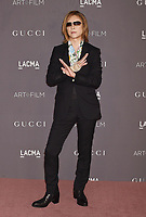 LOS ANGELES, CA - NOVEMBER 04: Songwriter/musician Yoshiki attends the 2017 LACMA Art + Film Gala Honoring Mark Bradford and George Lucas presented by Gucci at LACMA on November 4, 2017 in Los Angeles, California.<br /> CAP/ROT/TM<br /> &copy;TM/ROT/Capital Pictures
