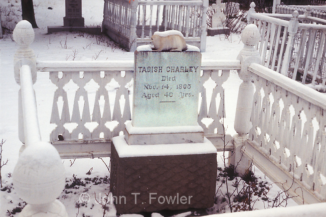 Grave of Tagish Charley, Cemetery at Carcross, Yukon Territory, Canada