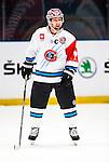 Stockholm 2014-08-21 Ishockey CHL Djurg&aring;rdens IF - Fribourg-Gotteron  :  <br /> Fribourg-Gotterons Bemjamin Pluss Pl&uuml;ss<br /> (Foto: Kenta J&ouml;nsson) Nyckelord:  Djurg&aring;rden Hockey Hovet CHL Fribourg Gotteron portr&auml;tt portrait