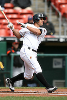 May 9, 2009:  Right Fielder Fernando Martinez of the Buffalo Bisons, International League Class-AAA affiliate of the New York Mets, at bat during a game at the Coca-Cola Field in Buffalo, FL.  Photo by:  Mike Janes/Four Seam Images