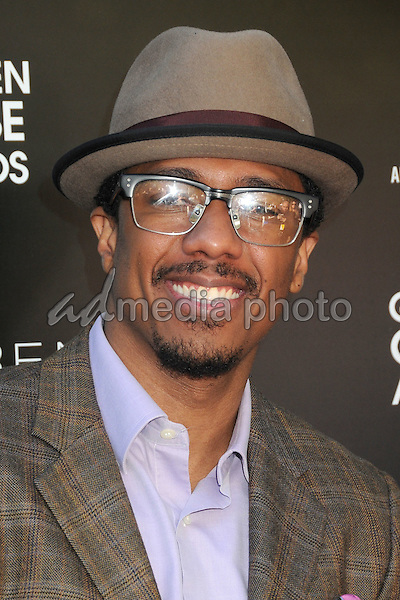 8 January 2016 - West Hollywood, California - Nick Cannon. 1st Annual Art for Amnesty Pre-Golden Globes Brunch held at Chateau Marmont. Photo Credit: Byron Purvis/AdMedia