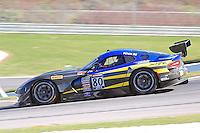 Dan Knox, #80 Dodge Viper, Pirelli World Challenge, Barber Motorsports Park, Leeds, Alabama, April 2014(Photo by Brian Cleary/www.bcpix.com)