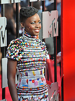 Lupita Nyong'o at the 2014 MTV Movie Awards at the Nokia Theatre LA Live.<br /> April 13, 2014  Los Angeles, CA<br /> Picture: Paul Smith / Featureflash